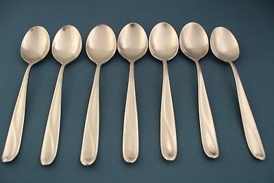 """Reed /& Barton Select Stainless Steel FOREST Lot of 2 Oval Soup Spoons 7 5//8/"""""""