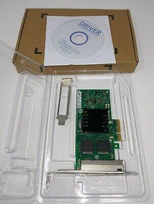 Quad Copper RJ45 Ports Padarsey Intel 82580 Chipset I340-T4 E1G44HT 1G Gigabit Ethernet Network Adapter NIC PCI Express 2.0 X4