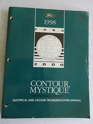 1998 Ford Contour Mystique Electrical Wiring Diagrams ...