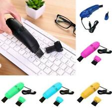 Mini Computer Vacuum USB Keyboard Cleaner PC Laptop Cleaning Kit Dust Brush Y8F8