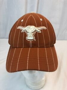 hot sale online 92fe7 c4965 Image is loading TEXAS-LONGHORNS-NCAA-FITTED-SIZE-SMALL-HAT-CAP-