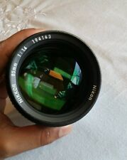 Nikon Nikkor 85mm 1:1.4 AIS lens