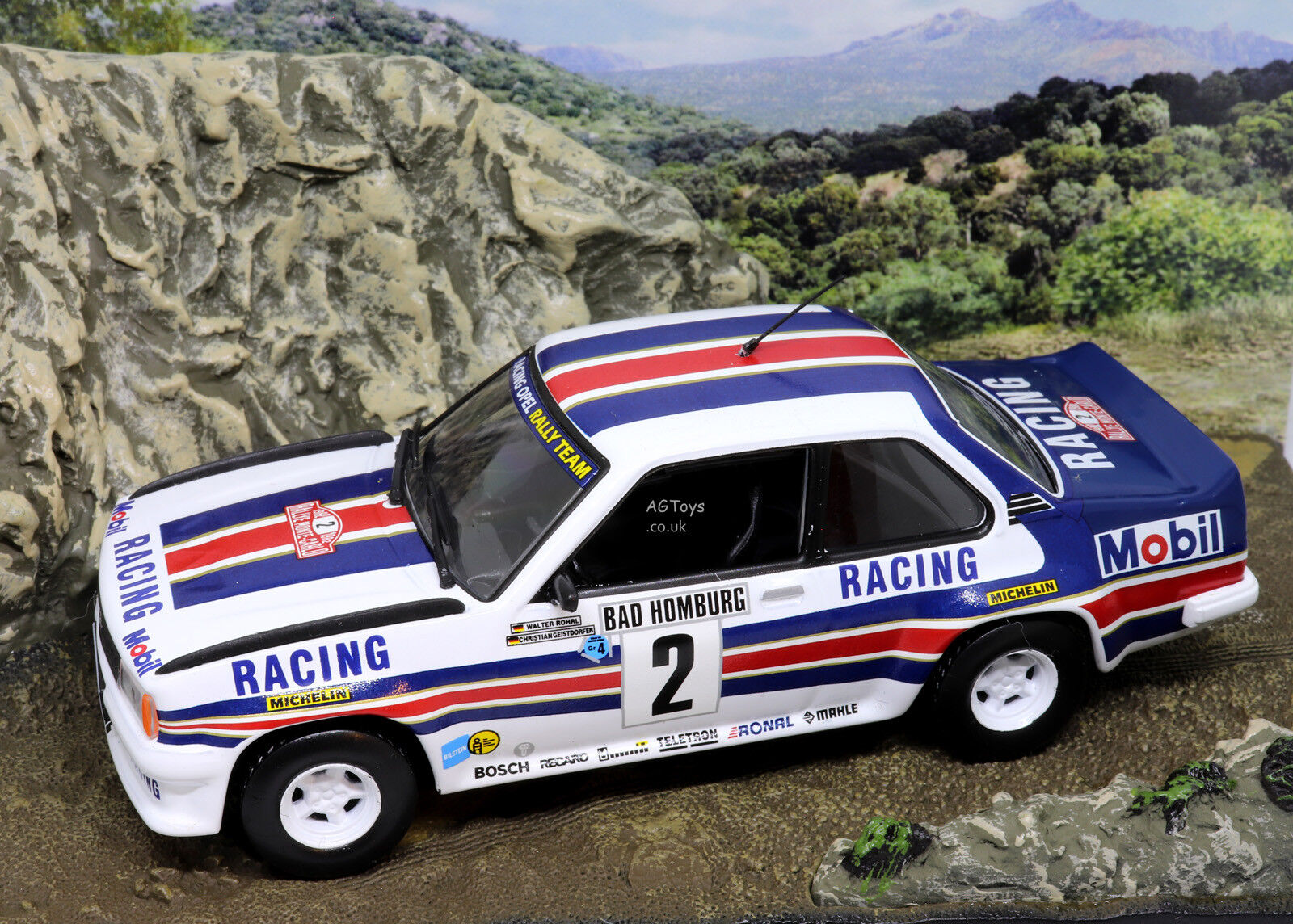 Rally Car Collection Opel Ascona 400 1982 W.Rohrl - C.Geistdorfer 1 43 Model