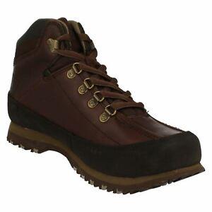 Stivali 125 uomo 8 Taglia marrone da Caterpillar Eu42 £ Rrp in ricambio pelle scuro di rtaqwrR6fn