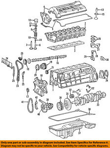 MERCEDES OEM 05-06 E320-Engine Valve Spring Keepers Retainers ...
