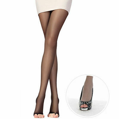 New Sale Women Fashion Hot Open Toe Sheer Ultra-Thin Tights Pantyhose Stocking