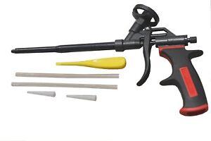 Schaumpistole-Teflon-PU-Schaum-Pistole-Bauschaumpistole-Montageschaumpistole