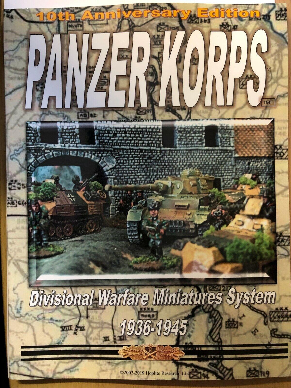Panzer Korps - Divisione Warfare Miniature Sistema 1936-1945