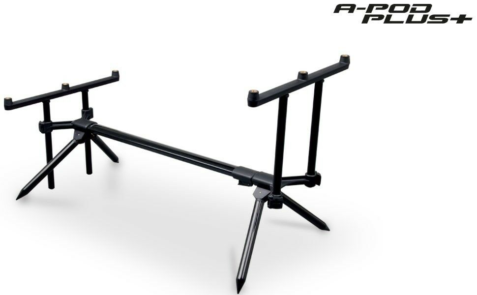 Fox A Pod PLUS 3 Rod Pod GRATIS Custodia