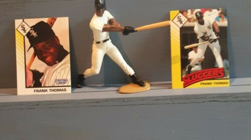 FRANK THOMAS STARTING LINEUP OPEN CHICAGO WHITE SOX 1993 /& 2 CARDS