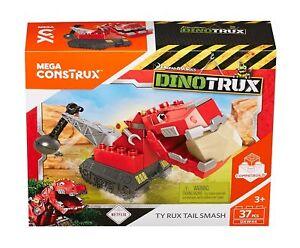 Mattel Mega Bloks DXW44 - Dinotrux T-Rux Konstruktionss<wbr/>pielzeug Geschenk Kinder