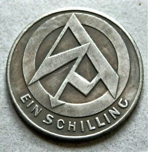 WW2-GERMAN-COMMEMORATIVE-COLLECTORS-COIN-1-SCHILLING-S-A