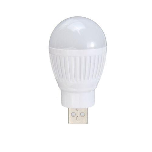 Desk Lamp Book Light USB Powered Light Bulb USB LED Light USB Bulb Mini Lamp