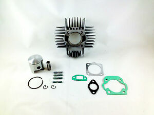 Details about 2FastMoto 70cc Big Bore 45mm Cylinder Piston Kit Tomos A35  Targa LX TX50 Revival
