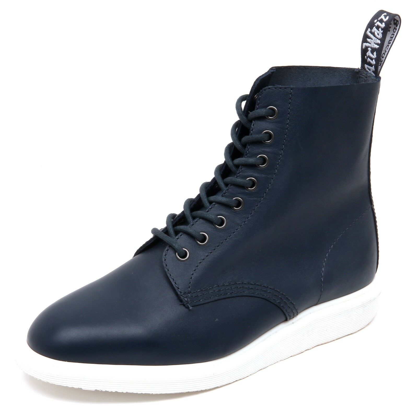 D4504 (without box) sneaker uomo DR. MARTENS WHITON blu boot shoe man