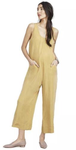 NEW S//4-6 Hatch Maternity Women's THE CAROLINE JUMPER Marigold Size 1