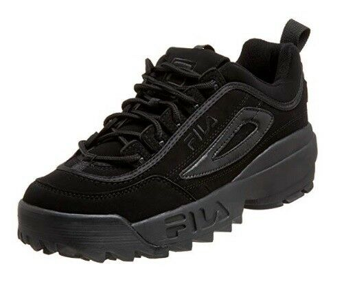 NEW MEN FILA DISRUPTOR II TRIPLE schwarz LEATHER SYNTHETIC 04495-001 04495-001 04495-001 FREE SHIP a1bd0d