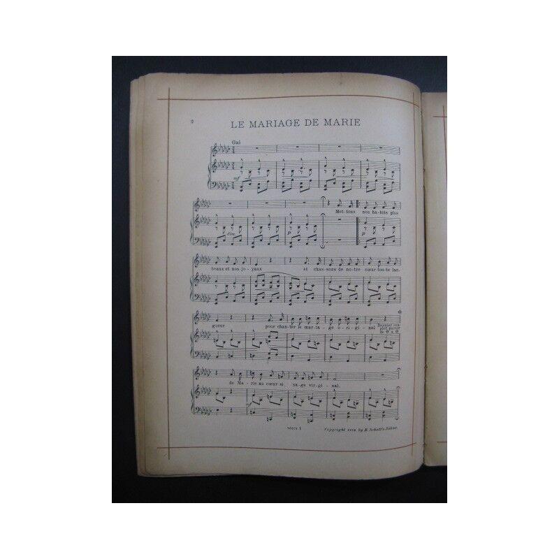 Episoden Episoden Episoden das Leben der Jesus Yvette Guilbert Chant Piano 1914 Partitur -blatt 6c6526