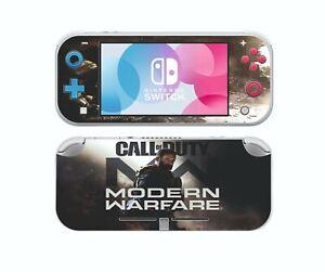 Nintendo Switch Lite Cod Call Of Duty Modern Warfare Sticker Skins Decals Cover Ebay