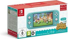 CONSOLE NINTENDO SWITCH LITE + ANIMAL CROSSING BUNDLE - GARANZIA ITALIA
