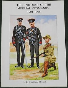 Yeomanry Uniforms 1901 1908 British Army Soldiers Imperial Military