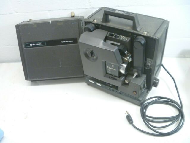 Vintage Bell Howell 16mm Projector FILMOSOUND Model 2585 As Is