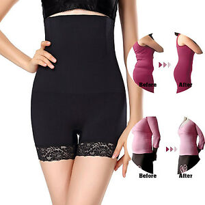 da86c078b0b Women High Waist Tummy Control Body Shaper Seamless Thigh Slimming ...