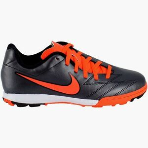Image is loading Nike-Turf-Soccer-Cleats-Sneakers-JR-T90-Shoot-