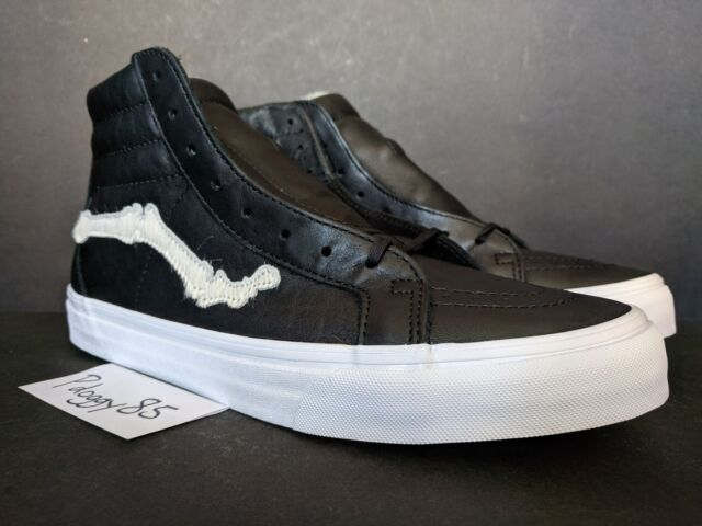 "17b36f810e2410 Blends X VANS Vault ""pony Hair Bone"" Sk8-hi Reissue Zip LX Size 10 ..."