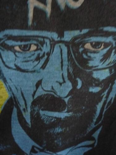 BREAKING BAD I AM THE ONE WHO KNOCKS T-SHIRT HEISENBERG LOS POLLOS HERMANOS