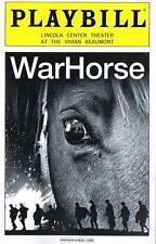 War Horse Playbill from FINAL Broadway Performance 1/6/2013 MINT