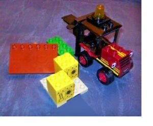 Lego-Duplo-Lifti-3298-Stapler-Bob-der-Baumeister-wie-Neu-komplett-Gabelstapler