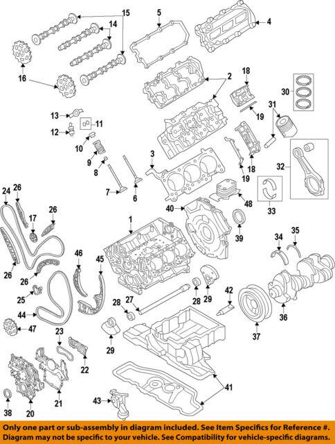 Audi OEM 14-15 A6 Quattro-engine Valve Cover 059103470AS