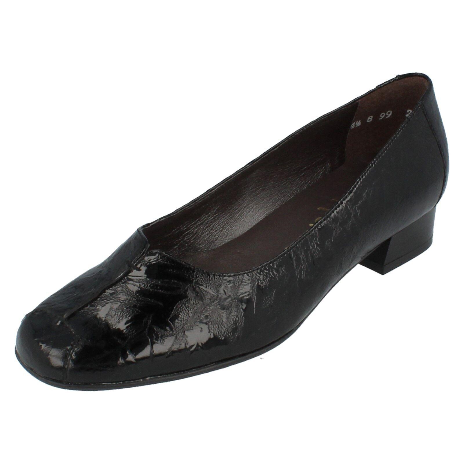 Mujer Sandpiper Sandpiper Mujer Zapatillas Charol Negro talla 3625b6