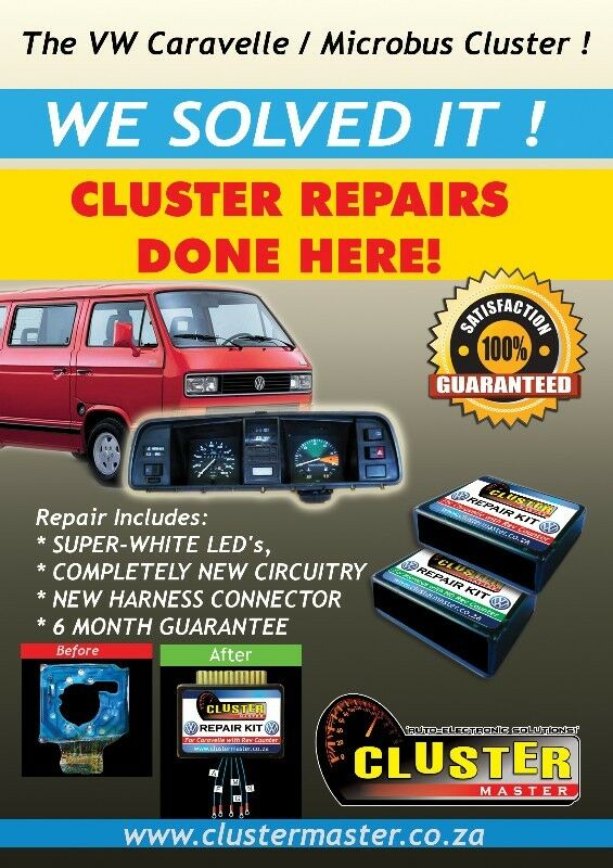 Instrument Cluster Repairs - VW Caravelle and Microbus Specialists | Other  | Gumtree Classifieds South Africa | 124200988