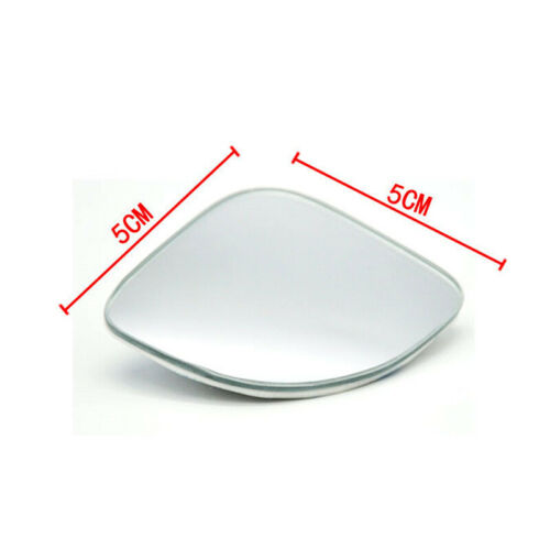 1 Pair Left and Right Side Fan-shaped Styling Blind Spot Wide-view Mirrors Glass