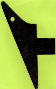 LEFT-HANDED-034-EXPLORER-034-TYPE-PICKGUARD-SCRATCHPLATE-BLACK-NEW
