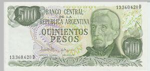 1977-500-Pesos-Banknote-Argentina-UNC-Pick-303