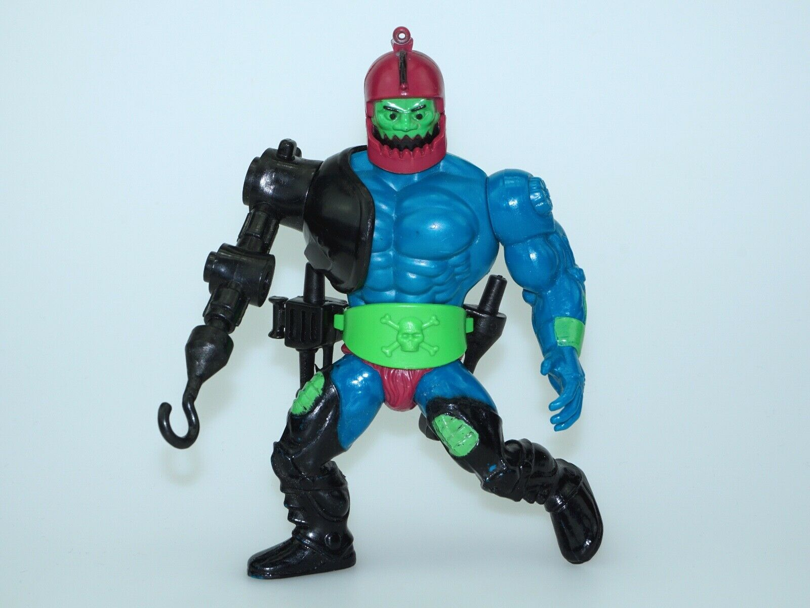 MOTU HE-MAN MASTERS OF THE UNIVERSE TRAP JAW 100% COMPLETE - MATTEL FRANCE