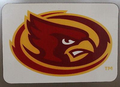 Iowa State University Cyclones Team Magnet Football NCAA College Cy Cardinal