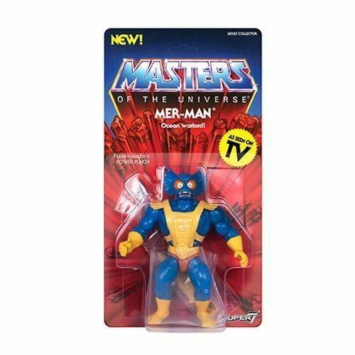"Masters of the Universe /""Vintage/"" Mer-Man 5 1//2 pouces 2019 Action Figure"