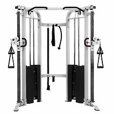 CABLE CROSSOVER MACHINE CABLE MACHINE FUNCTIONAL TRAINER XMARK XM-7626-WHITE