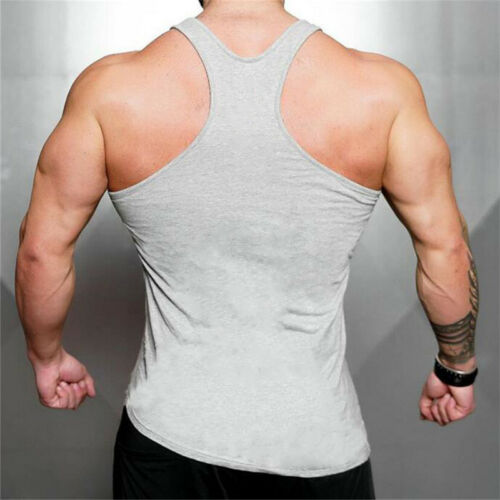 Men/'s Muscle Sport Workout Clothing Breathable Copression Singlet Gym Tank Tops