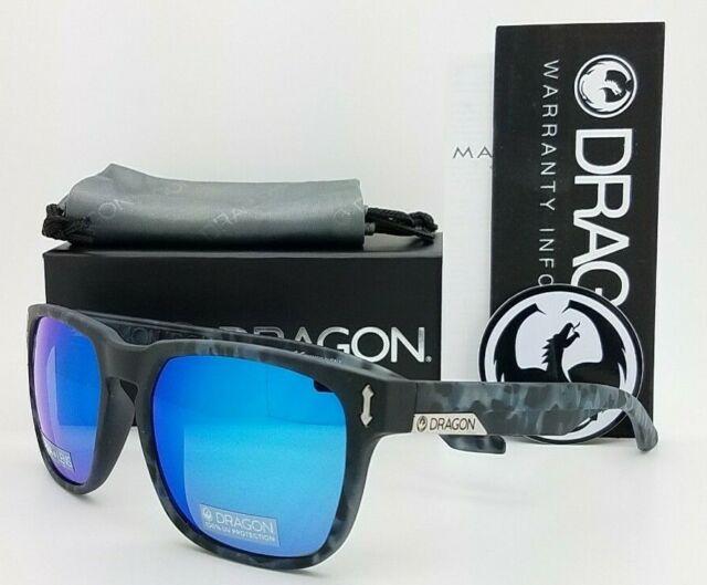Dragon Monarch Ion Sunglasses Matte Midnight Tort Lumalens Blue Ion
