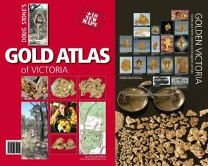 Details about GOLD ATLAS OF VICTORIA - DOUG STONE - NEW EDITION!  PROSPECTING - HIGH DETAIL MAP