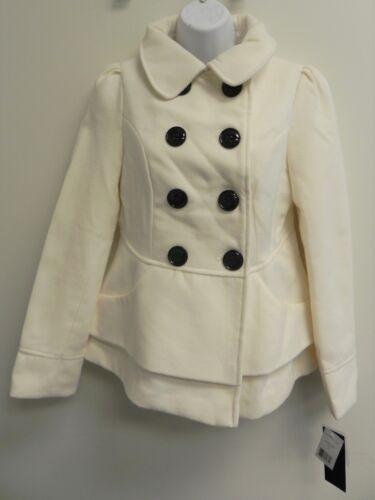 Madden Girl Peacoat Girl Jacket in Ivory