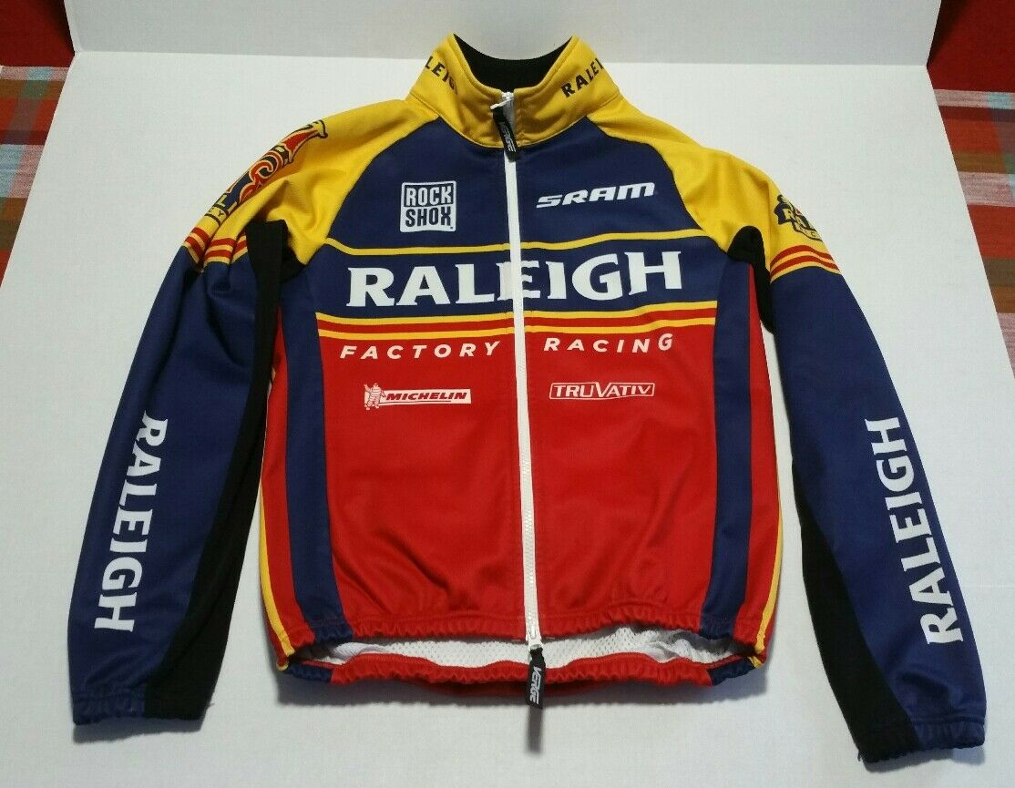 Rare Verge Sport Raleigh Factory Racing  Team Thermo Cycling Jersey XS Mountain  order now with big discount & free delivery