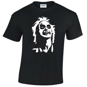 Beetlejuice-Face-Mens-T-Shirt-S-5XL-retro-tee-gift-present