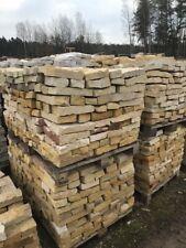 Trockenmauer Sandstein Bruchstein Brocken Gartenmauer Ruinenmauer Naturstein