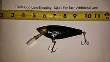 Bagley's Monster Shad Fishing Lure Vintage 5 1/2 in long Brass Hardware